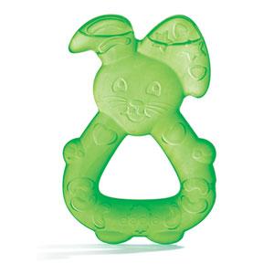 Anneau de dentition réfrigéré lapin vert