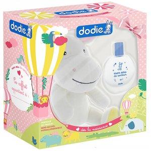 Coffret eau de senteur bébé 50ml + doudou hippopotame fille