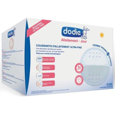 Coussinets d'allaitement slim jour en pochette individuelle x100 Dodie