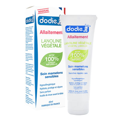 Soin mamelons 100% vegetal Dodie