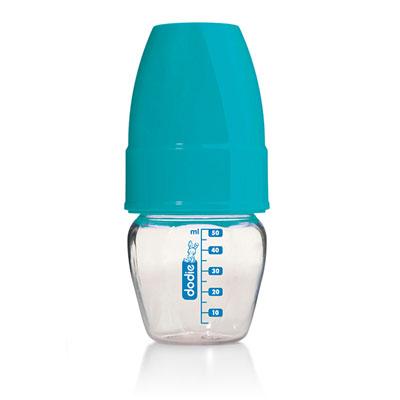 Micro biberon bleu ou rouge 50ml Dodie