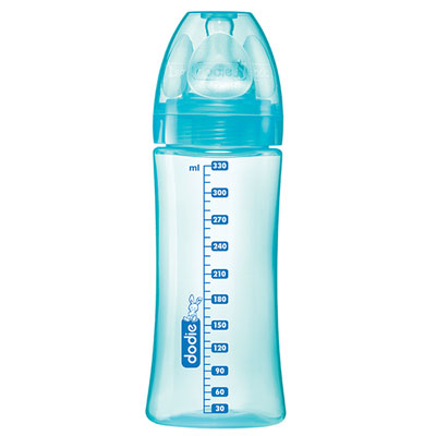 Biberon sans bpa initiation+ lagoon 330 ml Dodie