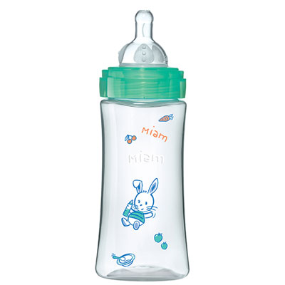Biberon sans bpa initiation+ décor 330 ml Dodie