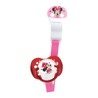 Attache sucette ruban minnie Dodie