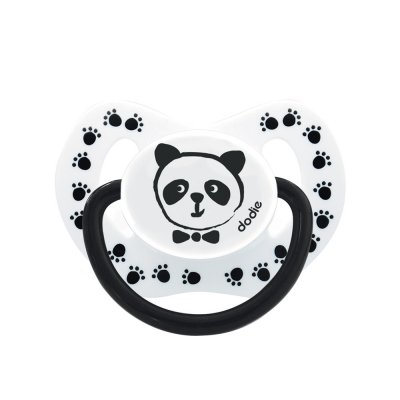 Sucette silicone 0-6 mois panda Dodie