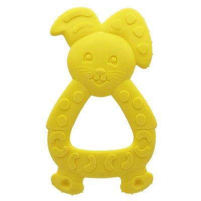 Anneau de dentition lapin jaune arôme vanille Dodie