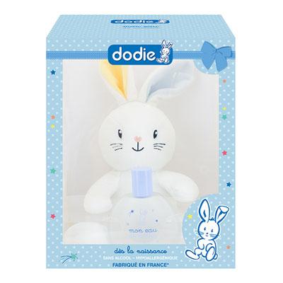 Coffret eau de senteur bébé avec doudou lapin garçon Dodie