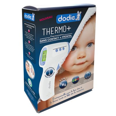 Thermomètre bébé sans contact + frontal Dodie