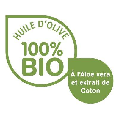 Lingettes à l'huile d'olives 3en1 bio 70 pièces Dodie