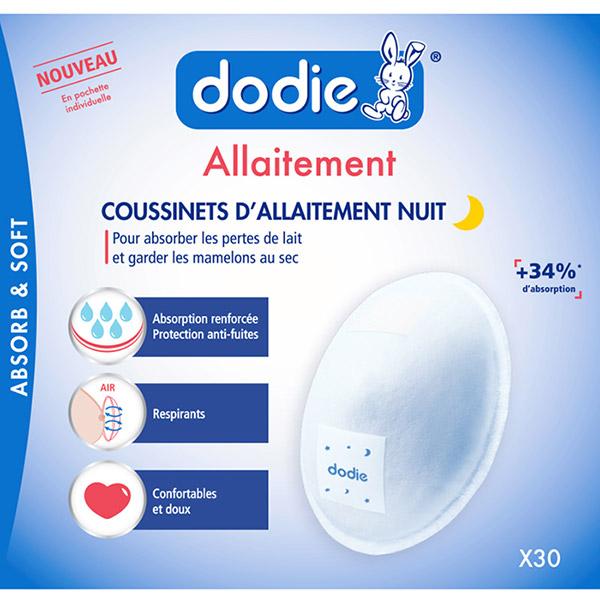 Coussinets d'allaitement nuit x30 Dodie