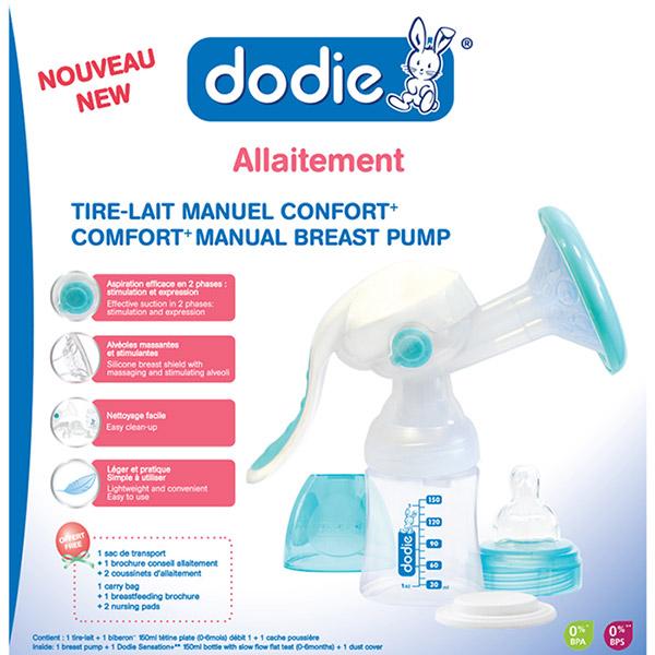 Tire-lait manuel confort + Dodie