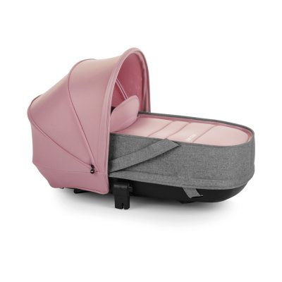 Pack poussette trio slide avec nacelle crib et coque one be solid pink Be cool