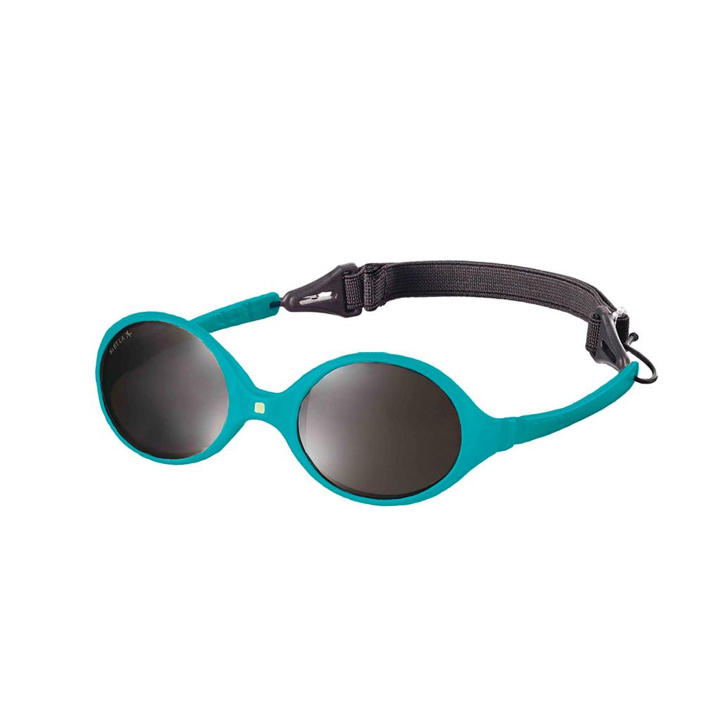 lunettes de soleil b b diabola 2 taille en 1 bleu canard 0 18 mois de ki et la sur allob b. Black Bedroom Furniture Sets. Home Design Ideas