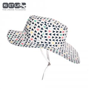 Chapeau kapel anti-uv reversible 6/12 mois fun fair