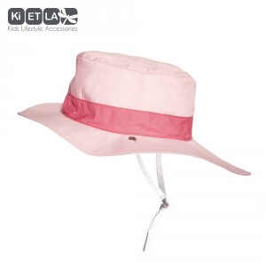 Chapeau kapel anti-uv reversible 6/12 mois pink