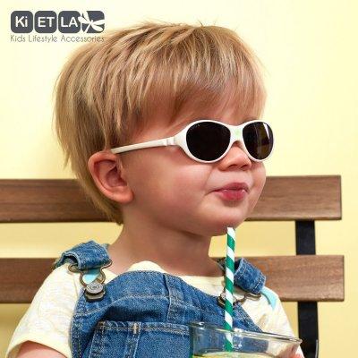 Lunettes de soleil bébé jokaki 12-30 mois blanc crème Ki et la
