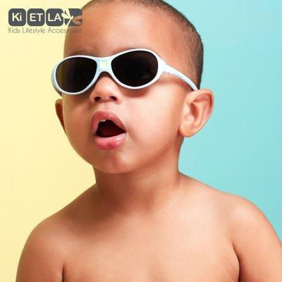 Lunettes de soleil bébé jokaki 12-30 mois bleu ciel Ki et la