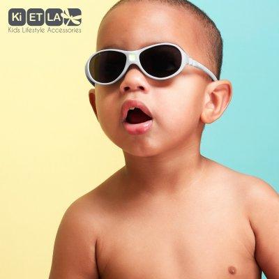Lunettes de soleil bébé jokaki 12-30 mois gris souris Ki et la