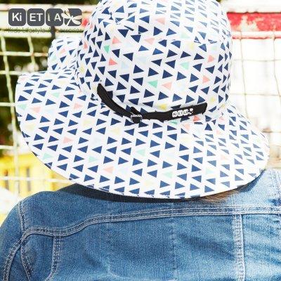 Chapeau kapel anti-uv reversible 6/12 mois fun fair Ki et la