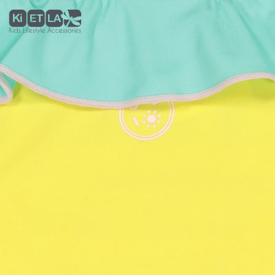 Culotte anti-uv annette 12 mois jaune/vert Ki et la