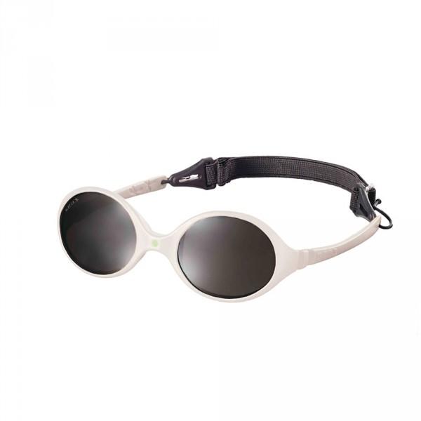 lunettes de soleil b b diabola 2 tailles en 1 blanc cr me 0 18 mois de ki et la en vente chez cdm. Black Bedroom Furniture Sets. Home Design Ideas