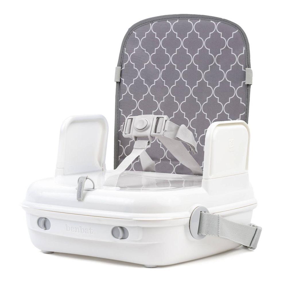 r hausseur de chaise portable yummigo gris de benbat chez naturab b. Black Bedroom Furniture Sets. Home Design Ideas