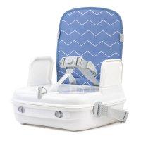 Réhausseur de chaise portable yummigo bleu