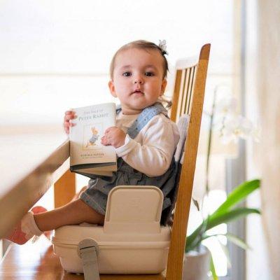 Réhausseur de chaise portable yummigo gris Benbat