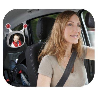 Jouet de voyage bébé miroir de voiture oly gris Benbat