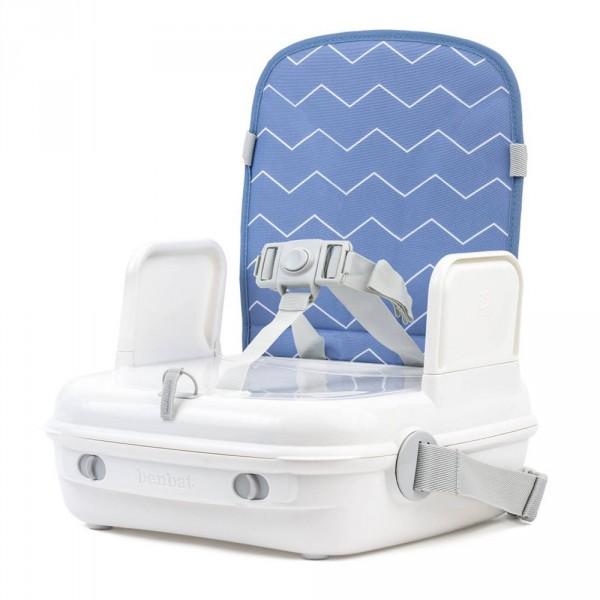 r hausseur de chaise portable yummigo bleu de benbat chez naturab b. Black Bedroom Furniture Sets. Home Design Ideas