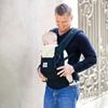 Porte bébé physiologique original + coussin nouveau né noir / beige Ergobaby