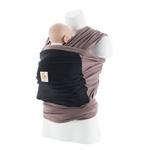 Echarpe de portage argile (argile/ poche noire) pas cher