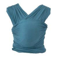 Echarpe de portage aura bleu amalfi