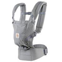 Porte-bébé physiologique adapt gris