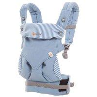 Porte-bébé physiologique 4 positions 360 bleu azur