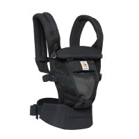 Porte-bébé physiologique adapt cool air mesh noir onyx