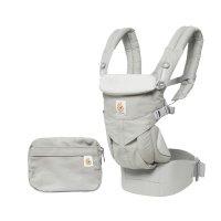 Porte-bébé physiologique omni 360 gris