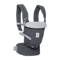 Porte-bébé physiologique adapt gris étoilé