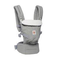 Porte-bébé physiologique adapt gris confetti