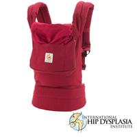 Porte bébé physiologique original rouge