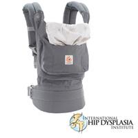 Porte bébé physiologique original gris starburst