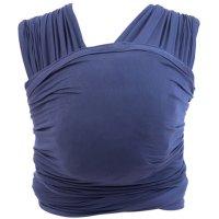 Echarpe de portage aura bleu indigo
