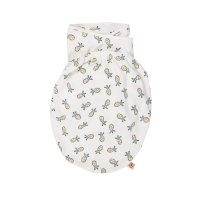 Couverture bébé d'emmaillotage ananas