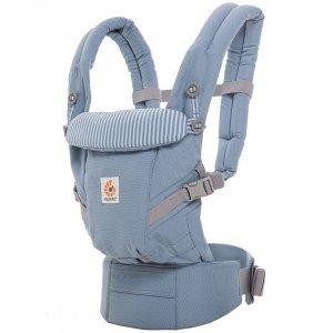 Porte-bébé physiologique adapt bleu azur