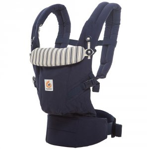 Porte-bébé physiologique adapt bleu amiral