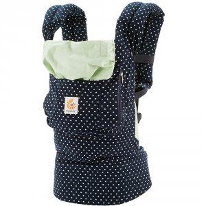 Porte bébé physiologique original petits pois