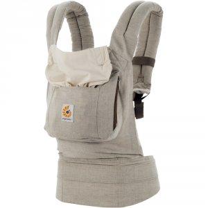 Porte bébé physiologique original lin