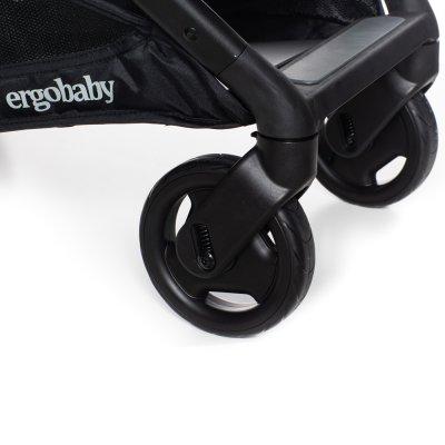 Pack poussette duo métro avec kit nouveau-né noir Ergobaby