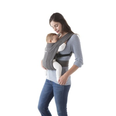 Porte-bébé physiologique embrace gris Ergobaby
