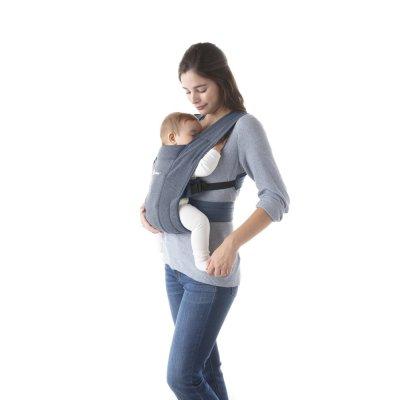 Porte-bébé physiologique embrace bleu gris Ergobaby